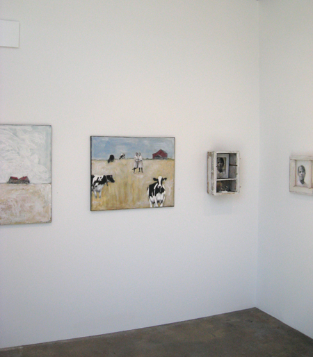Heather Murray, Twice Told, Exhibition installation view.