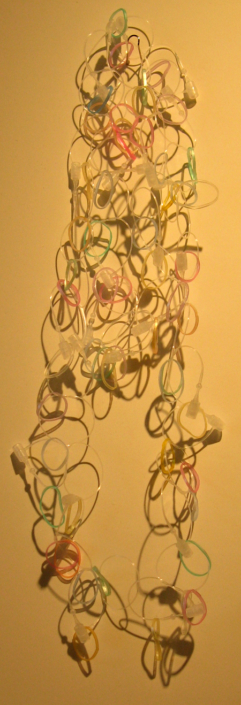 Lily Yung, Cirrus Necklace (LY2B), 2007, polypropylene, elastic bands